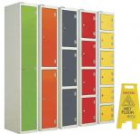 Splash Lockers Laminate doors